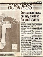 Pressemeldung von poolalarm in  Spartanburg